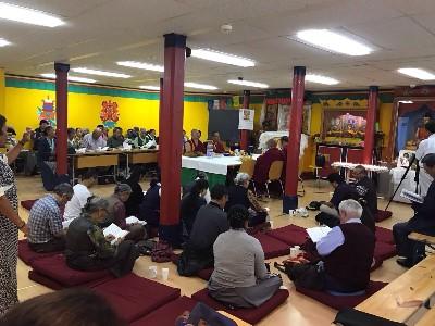 Gemeinschaftsraum der Tibetergemeinschaft Rikon, Rikon.
