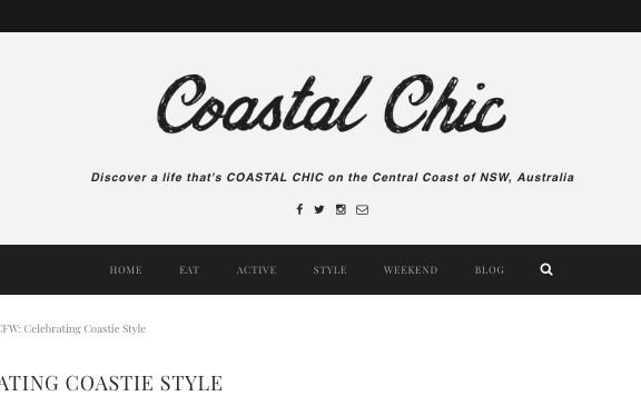 Coastal Chic MAgazine