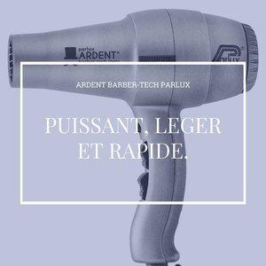 Puissant, léger et rapide. - ardent barber-tech Parlux
