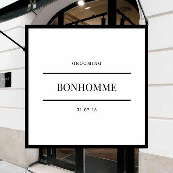 Bonhomme - Grooming