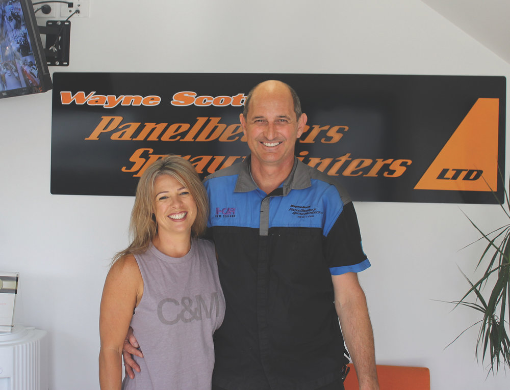 Owners and operators - Wayne and Paula Scott