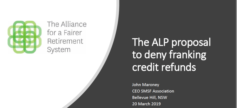 The ALP proposal to deny franking credit refunds cover.PNG