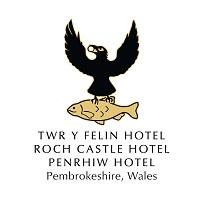 Twr y Felin Hotel, Roch Castle and Penrhiw Hotel Logo.jpg