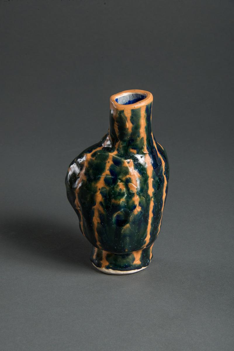 "Untitled, stoneware, 6x4x4"""