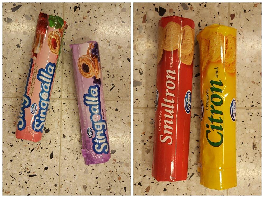 Singoalla och Göteborgs cremekex passar perfekt att bjukka en vegan på.