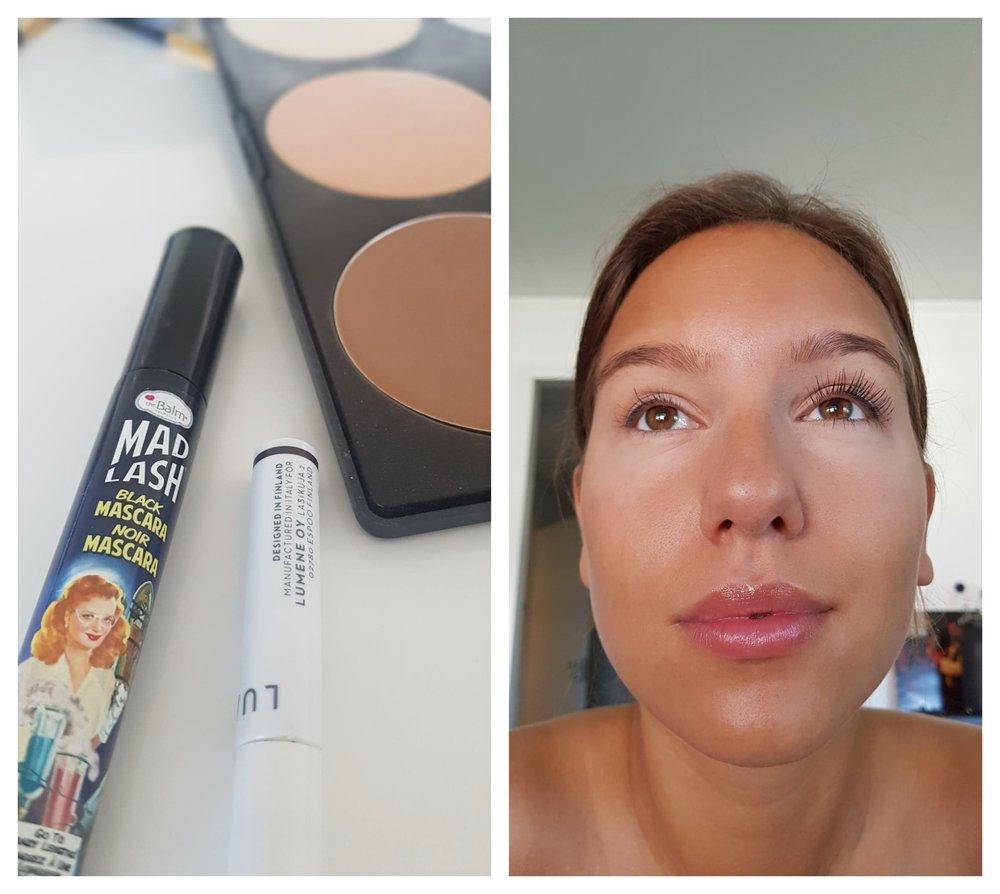 Mascara  HÄR //Eyeliner  HÄR //