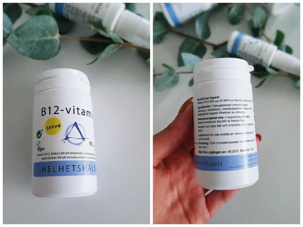 B12-vitamin från helhetshälsa