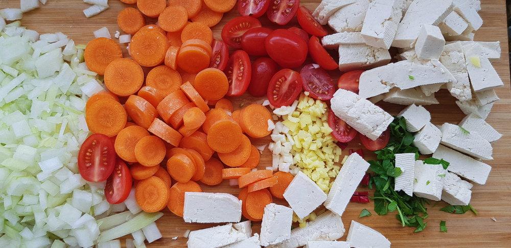 Här ser ni ungefär vilken storlek vi gillar att hålla Tofun, men det går förstås att göra som en vill!