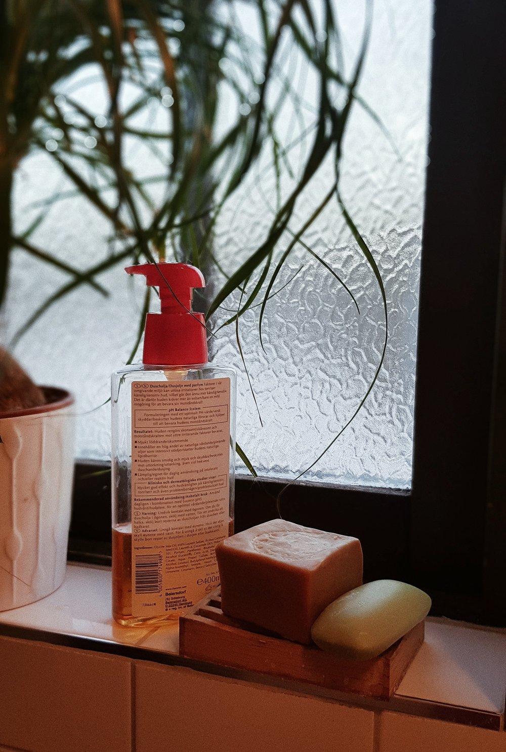 Ren kropp, ren planet - Minska plastomsättningen med fast tvål istället för flytande pumptvål.