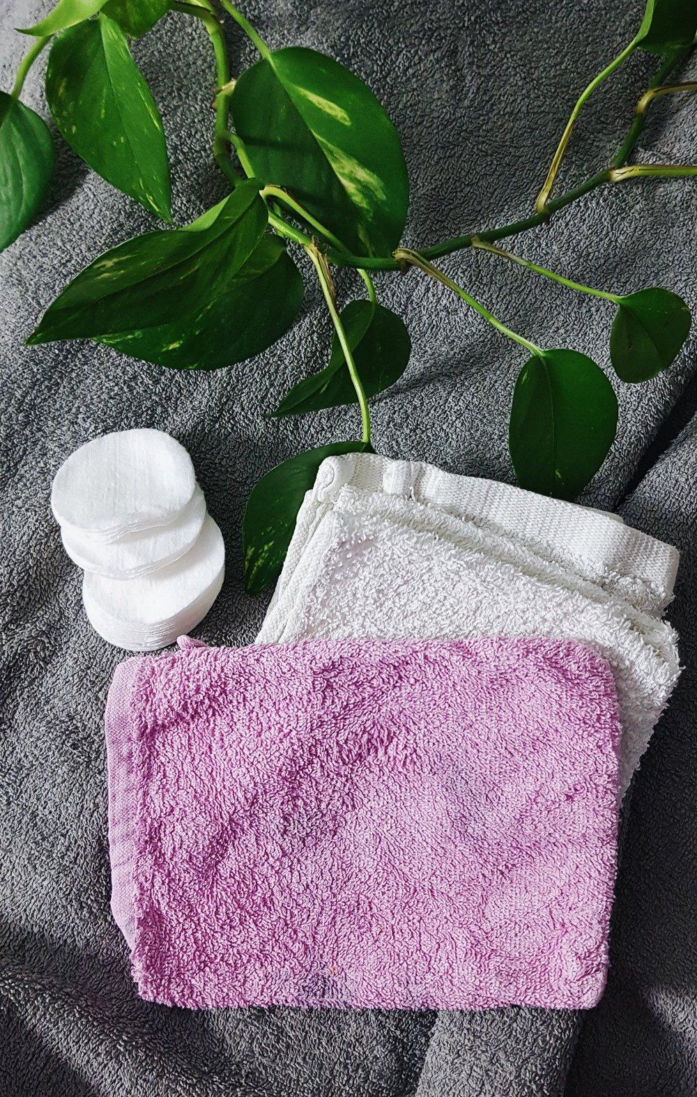 Se över dina engångs-produkter - Bomullsrondeller kan enkelt ersättas med frotéservetter