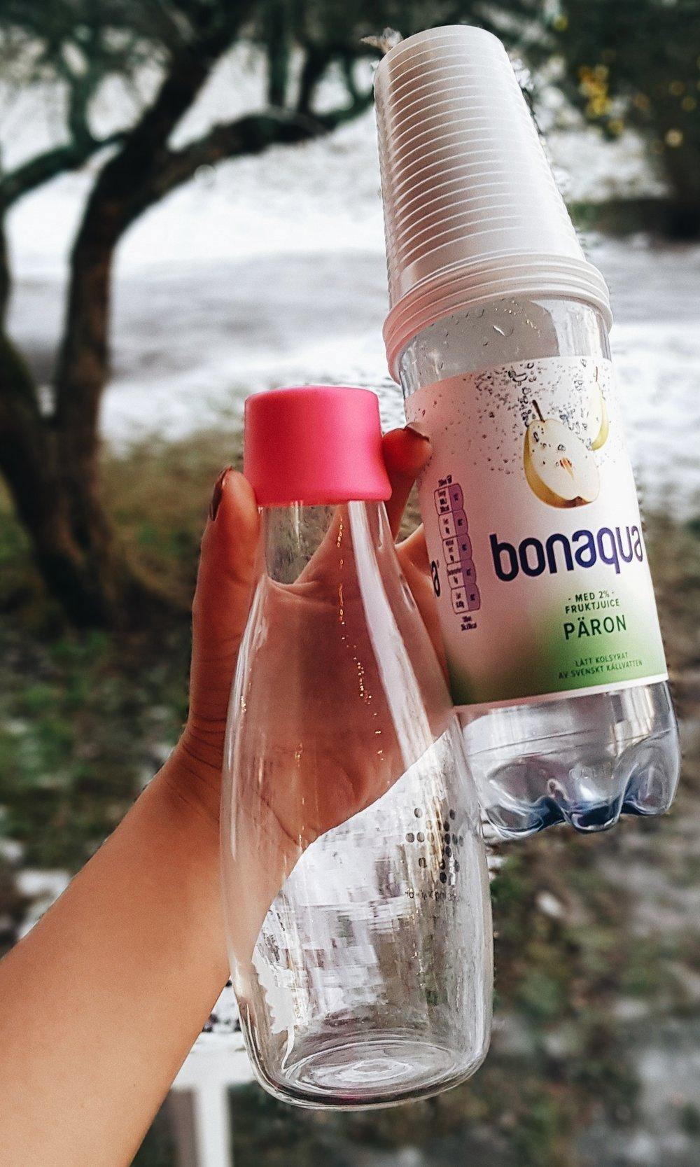 Vattenflaska - -Sparar både pengar och resurser.