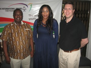 L-R: Edwin Kimani; Africa Regional Director of The Duke of Edinburgh's International Award Foundation, Toyin Odu; National Director of The International Award for Young People Nigeria and Stephen De-Wint; Chief Operating Officer, The Duke of Edinburgh's International Award Foundation