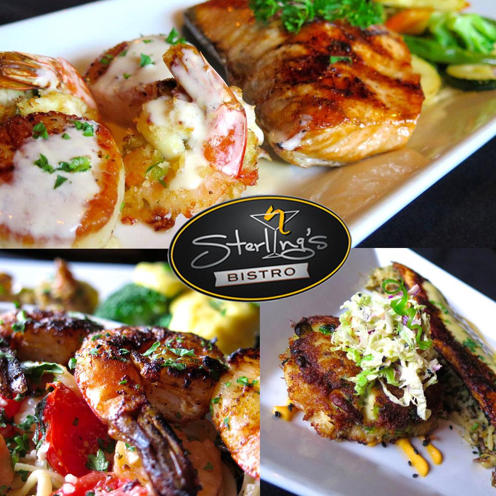 Seafood Trio Sunday