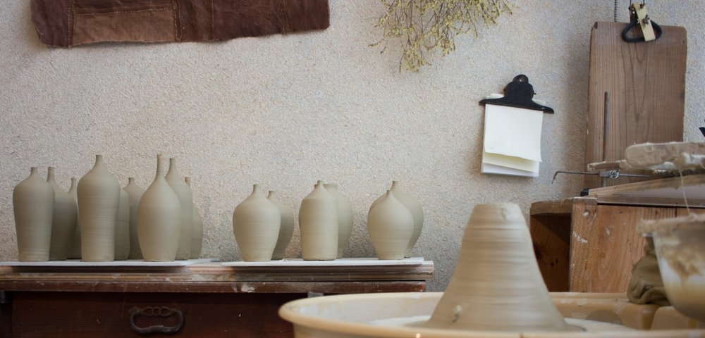 Atelier Takumi _ Visit of a Japanese ceramist craftsman