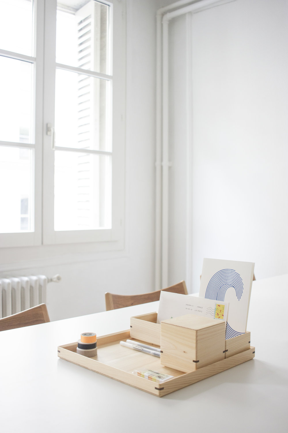 HAKO COLLECTION - Meaning box in Japanese, «Hako» is composed of 4 elements that work both as a set and individually. Playing on a balance of shapes and functionalities, it is together that these Hinoki boxes will be most suitable for your daily life.See the product