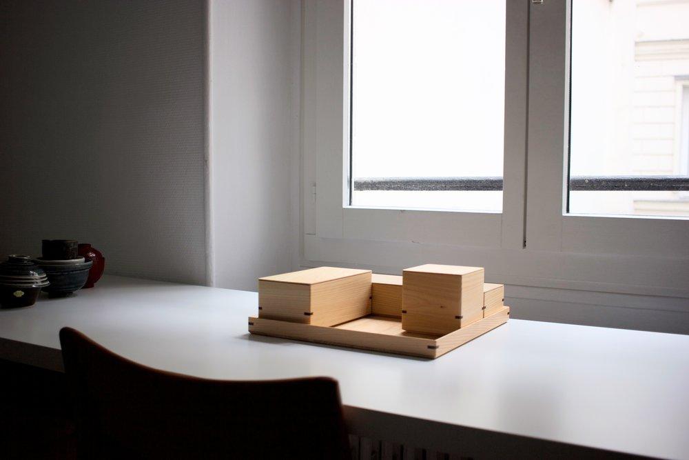 Atelier Takumi - Boxes:Hinoki:Woodwork:Assemblage:Toyooka Craft:Flavien Delbergue:scéno7.jpg