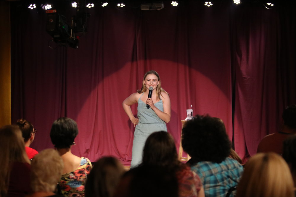 Alia's stand-up and sketch comedy has sold out shows at Second City's De Maat Theatre.