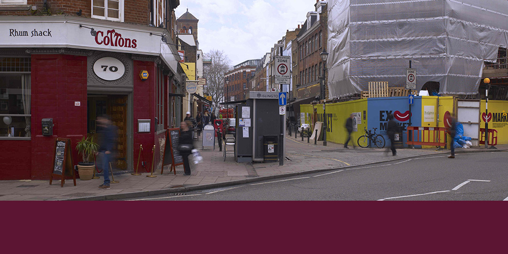EXMOUTH MARKET, LONDON