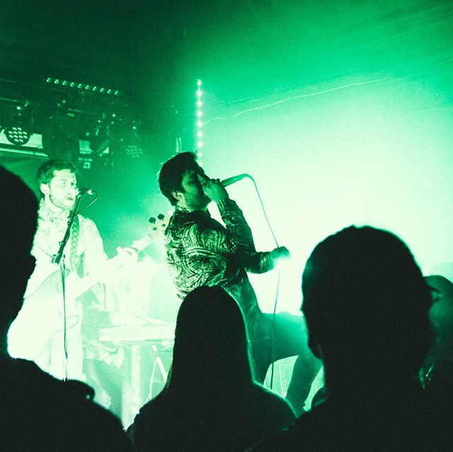 Big thanks to @evaplaysdead for having us last night!  Nottingham showing us the real love on a Monday, we can't wait to come back and play for you again soon. 💚 📷 : @theodoreswaddling
