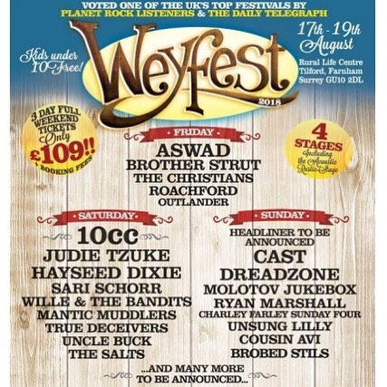 Catch us at @weyfest in August! 💚