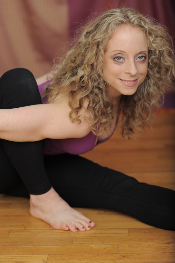 Her biggest goal is to make yoga accessible to women with busy schedules.