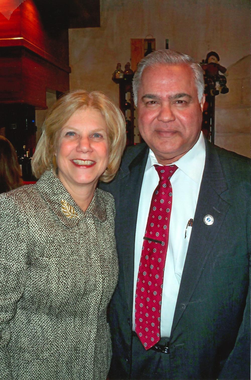Nader and Senator Shelley Mayer