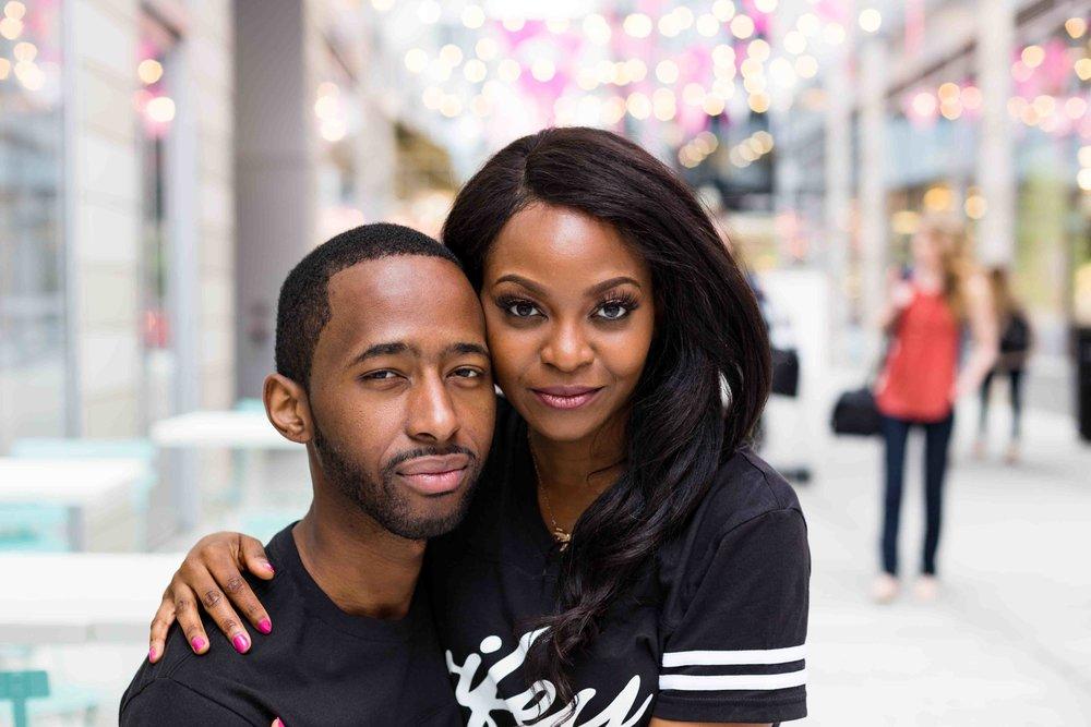 Black Couple Washington D.C.