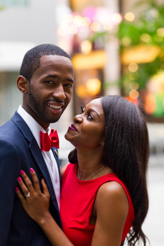 Black Couple Engagement Photography