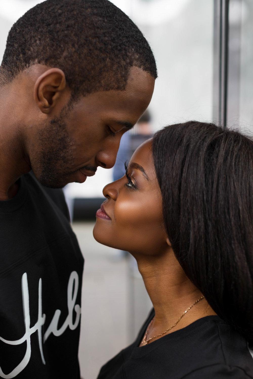 Black Couple engagement Session Washington D.C.