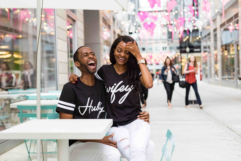 Black Couple Engagement Washington D.C.