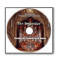 """THE ORGANISTAS"" (DVD) The Making of the N.P. Mander Organ"
