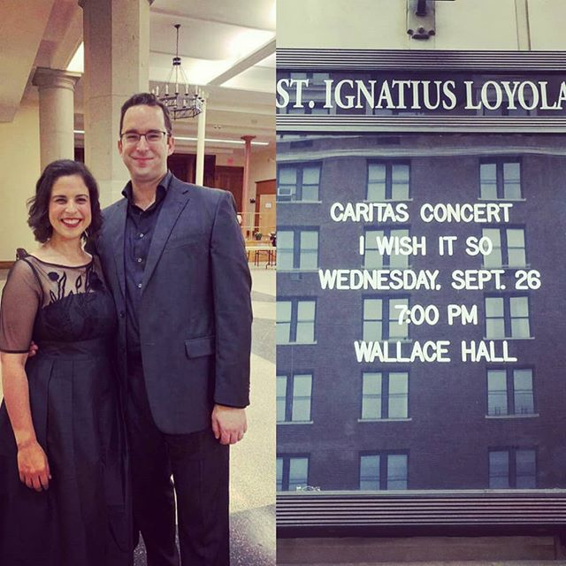 It was such a beautiful night! @michael.sheetz @mercy_center_bronx #latergram