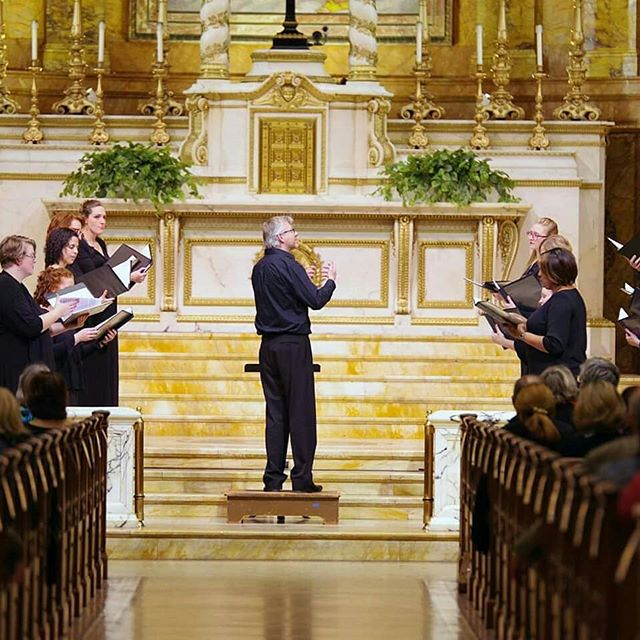 """Such harmony is in immortal souls."" Choir of St. Ignatius Loyola, Danny Beckwith, Diane Lesser, and Jorge Avila, thank you for lending your immortal souls at ""Serenade to Music"" last week. It was spectacular. Thanks to all who joined us in the audience. @k.scottwarren"