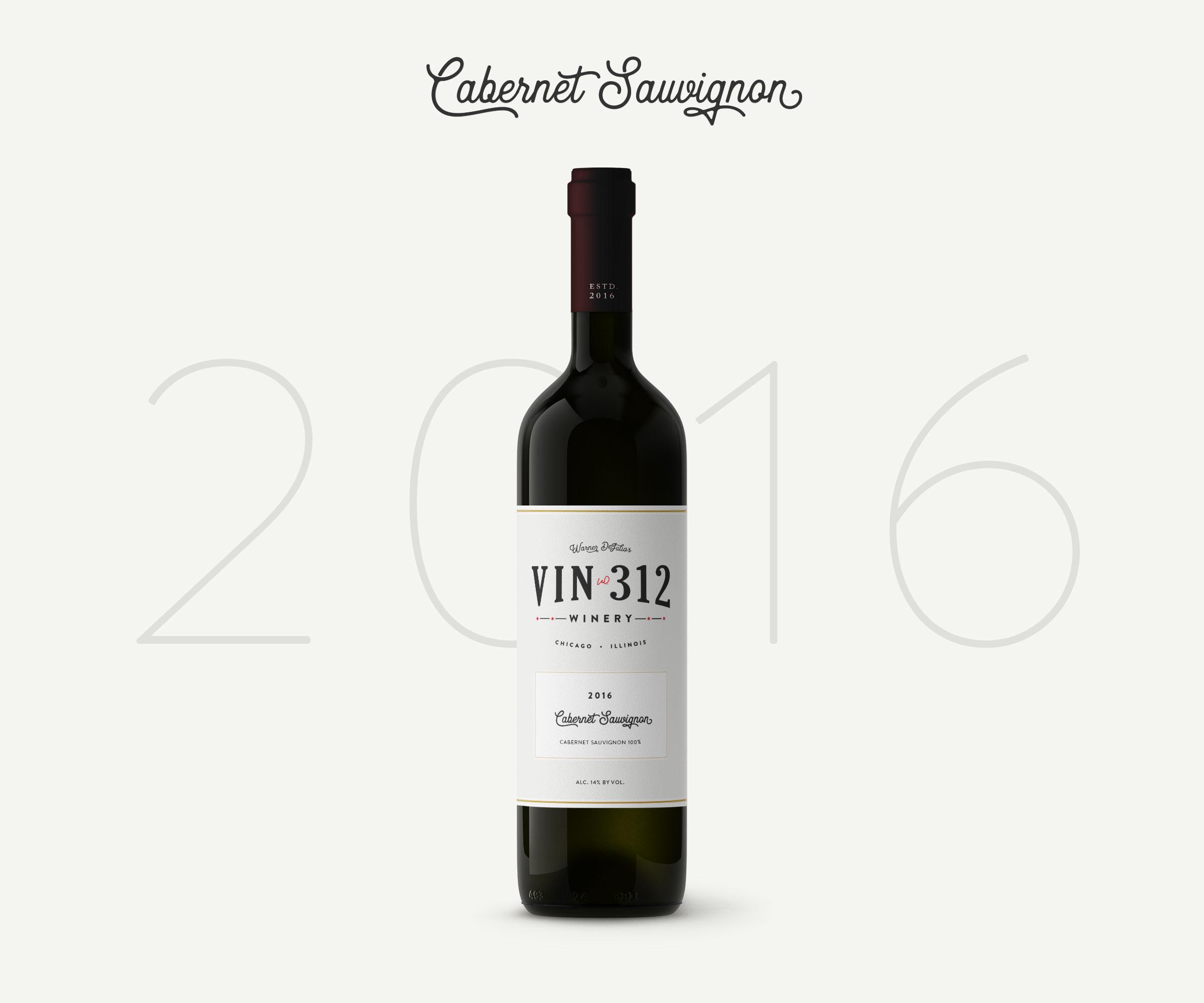 Fabriksnye 2016 Cabernet Sauvignon — VIN•312 FT-96
