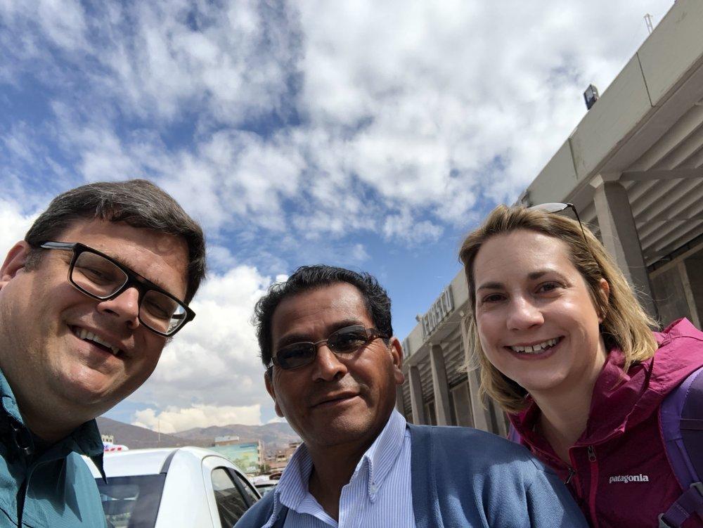 Roman, Our Guy In Cusco