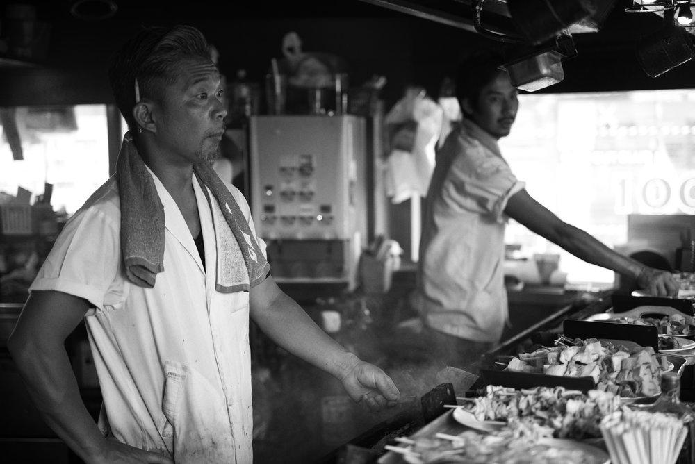 Neighborhood Guys Tokyo, Japan Leica M (Typ 246) 50mm f/2.0 APO Summicron © Keith R. Sbiral, 2018
