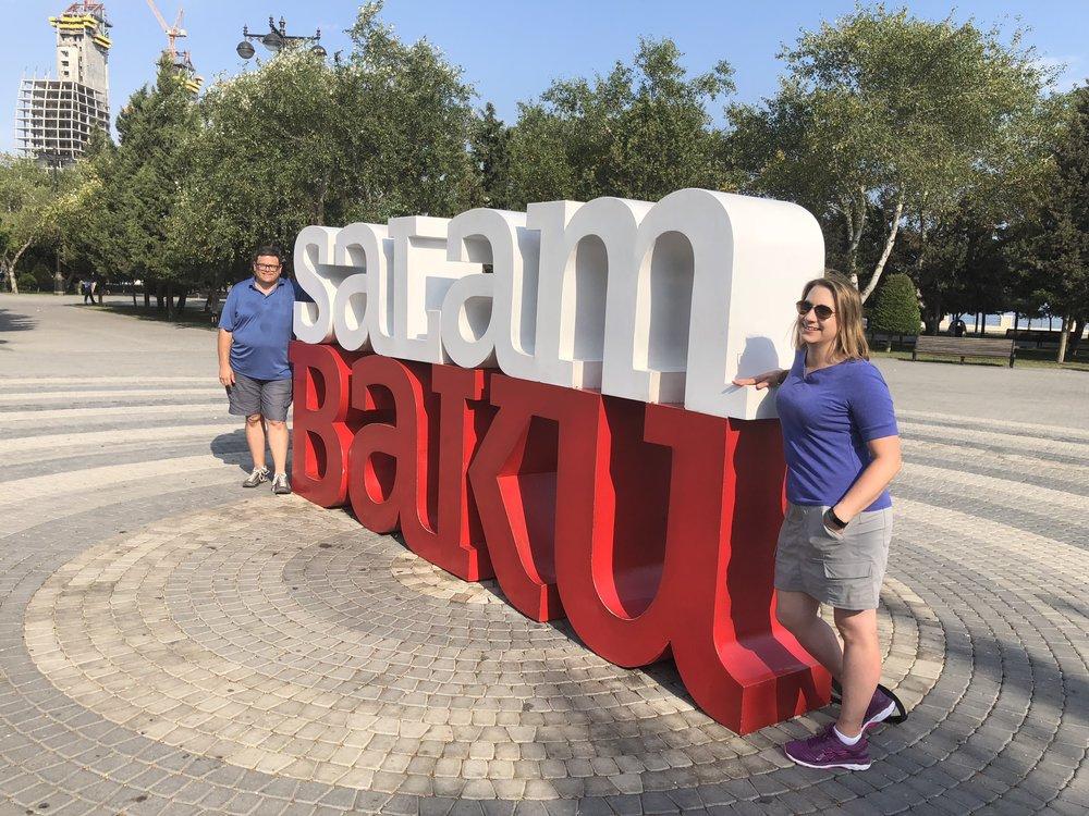 Salam Baku, August 7, 2018.