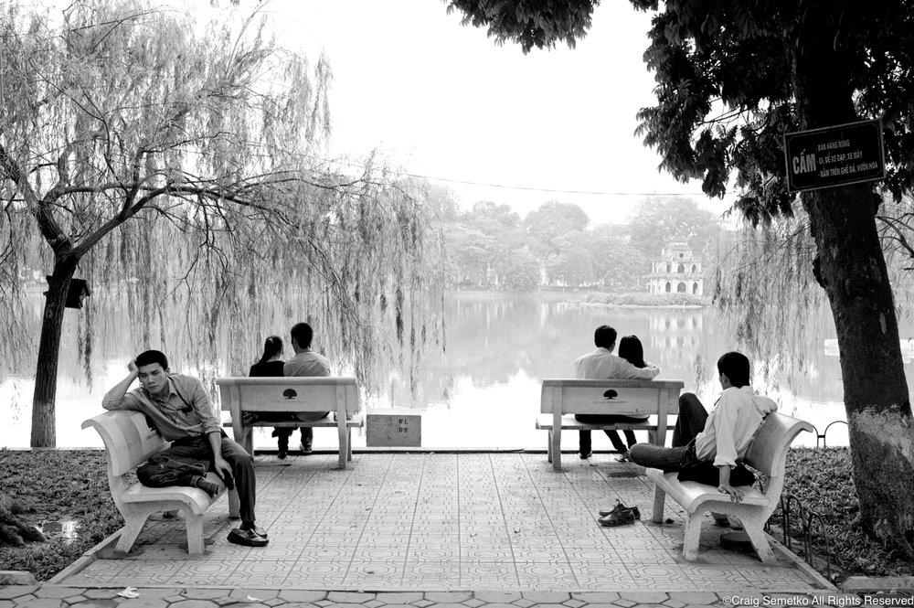 Hanoi, Craig Semetko