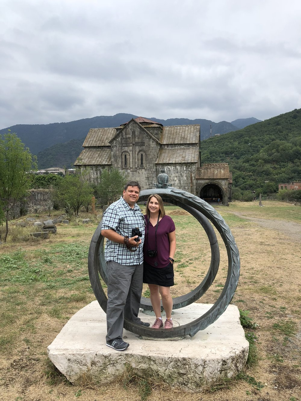 Surb Asvatsatsin Church, Akhtala, Armenia, Keith and Amy