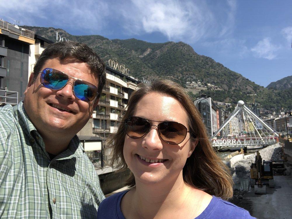 Keith and Amy, Andorra La Vella