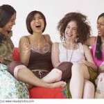 women laughing 1