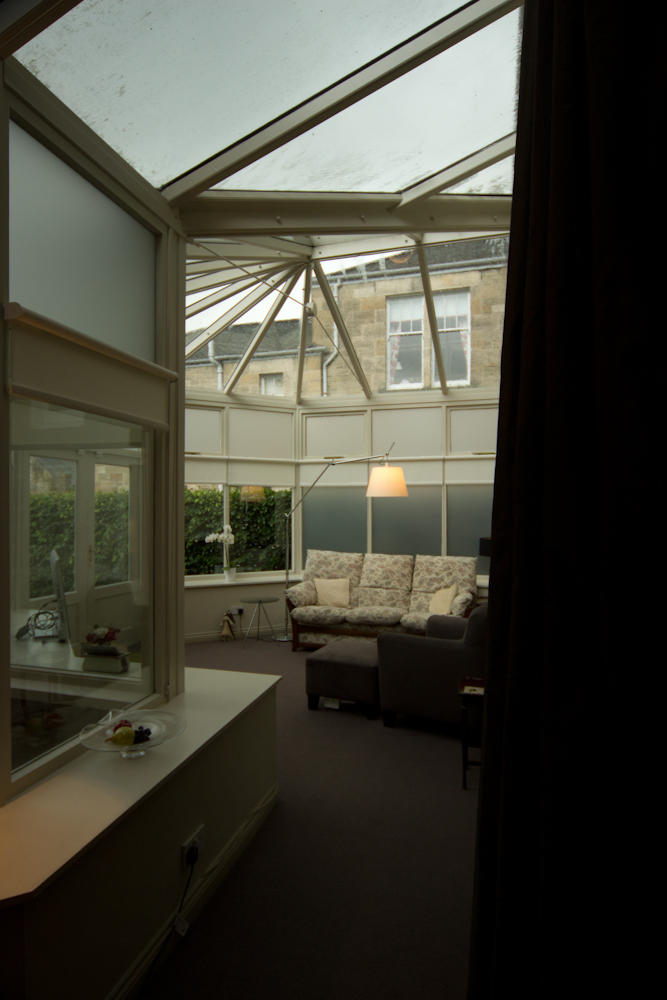 Existing conservatory