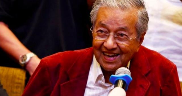 Prime Minister Mahathir Mohamed. Source: Reuters