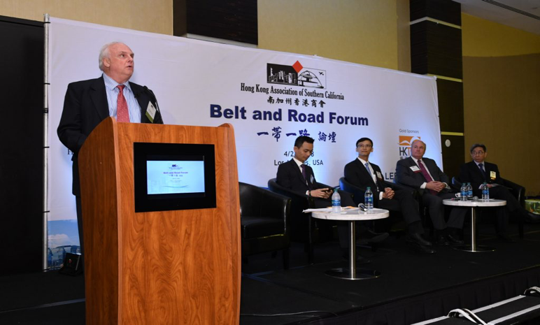 Speaker and Moderator, LA Belt and Road Forum, Hong Kong Association of Southern California