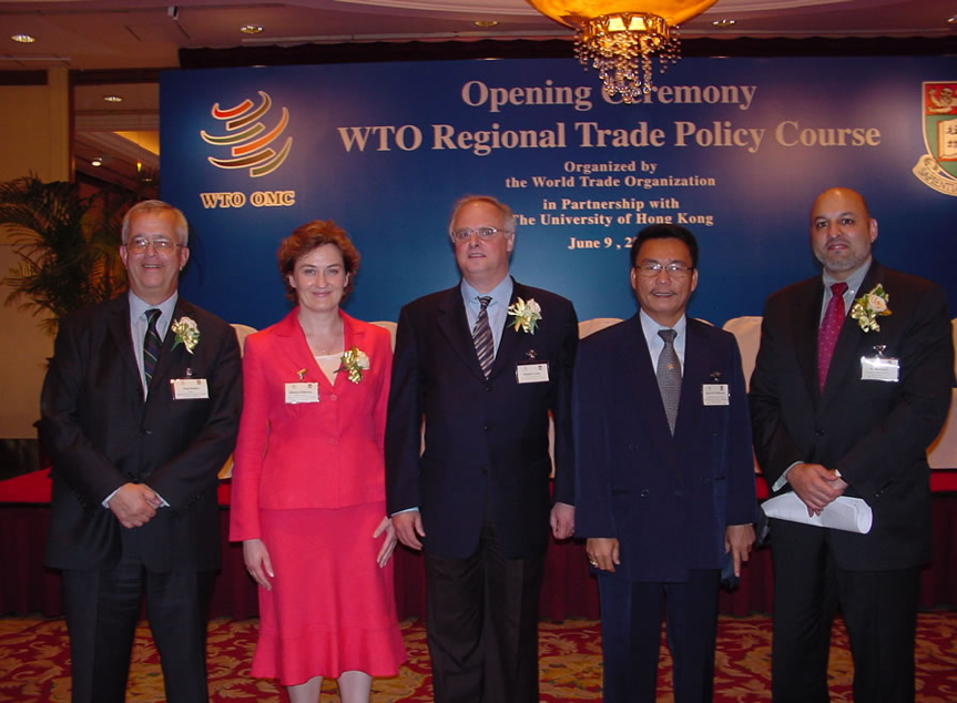 Academic Coordinator, 1st  WTO Asia-Pacific Regional Trade Policy Course (RTPC), The University of Hong Kong