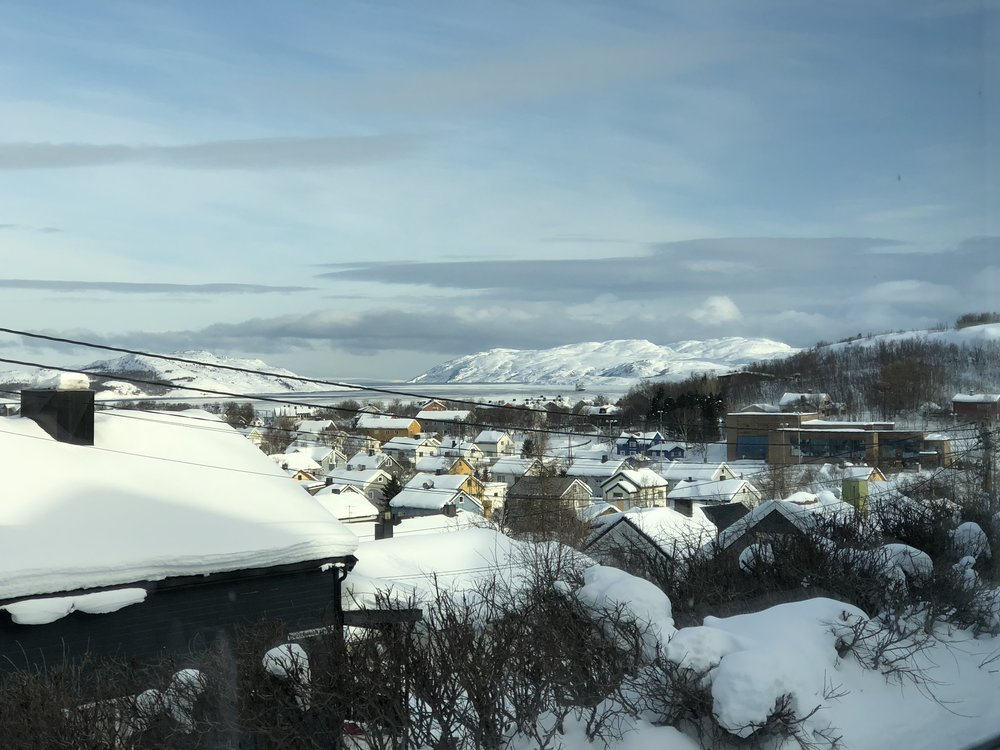 Views of Kirkenes - prosed terminus of Arctic Railway