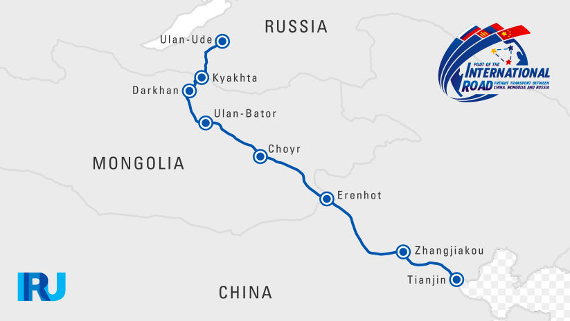 CMREC central route Source: Source: https://www.iru.org/where-we-work/iru-in-asia-pacific/China-Russia-trade-corridor-pilot-caravan