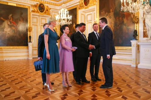 Professor Mierzejewski meets President Xi