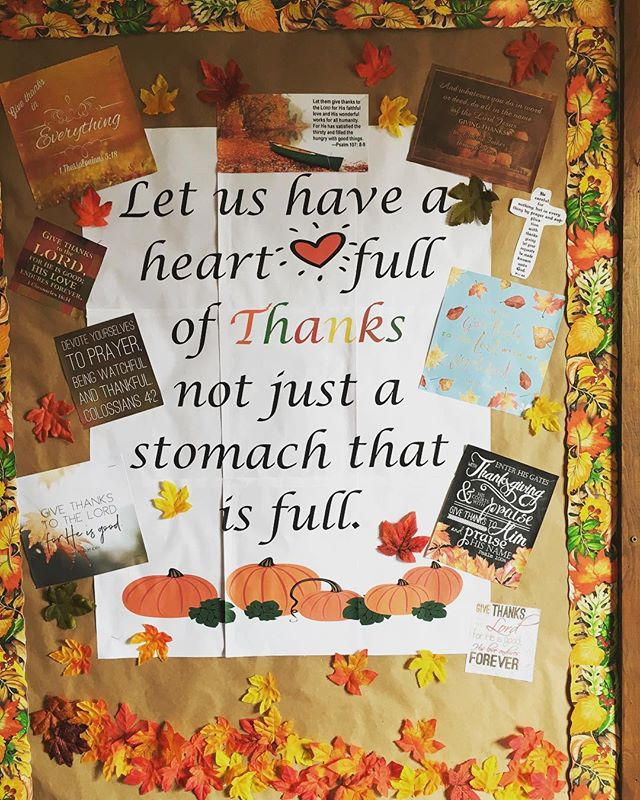 Thank you Lois for another great bulletin board🍂🌻