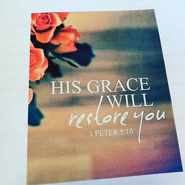 "Last week we had a great message by Pete Field about grace. Something that we could always be reminded of. It is free, unmerited and we must do nothing to earn it. ""For by grace you have been saved through faith; and that not of yourselves, it is the gift of God;"" ‭‭Ephesians‬ ‭2:8‬ ‭"
